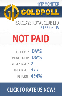 www.goldpoll.com - hyip barclays royal club