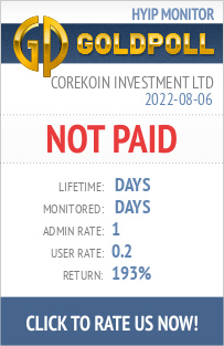 www.goldpoll.com - hyip corekoin investment limited