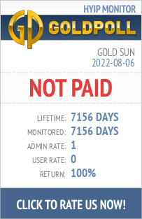 GoldPoll.com - The Best HYIP Rating. The Fairest High Yield Investment <br />Programs Monitoring Service.